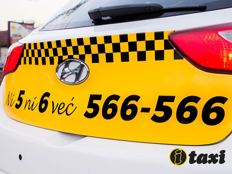 novi izgled taksija