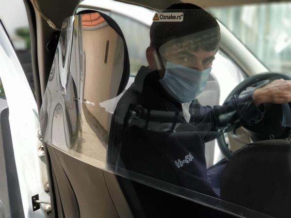 Безбедност путника и возача I-taxi-ja је на првом месту