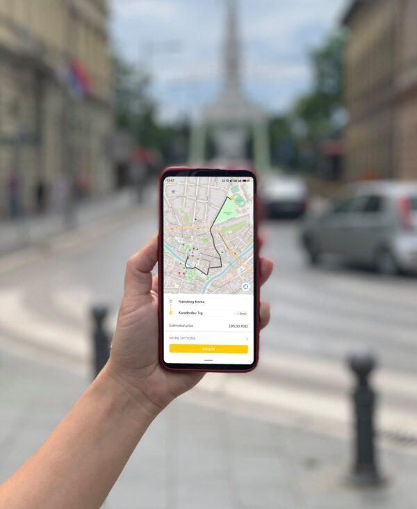 I-taxi-aplikacija